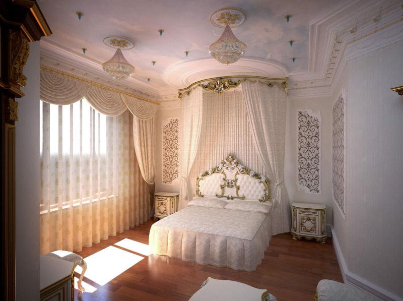 dizaynerskoe-oformlenie-spalni-v-stile-barokko