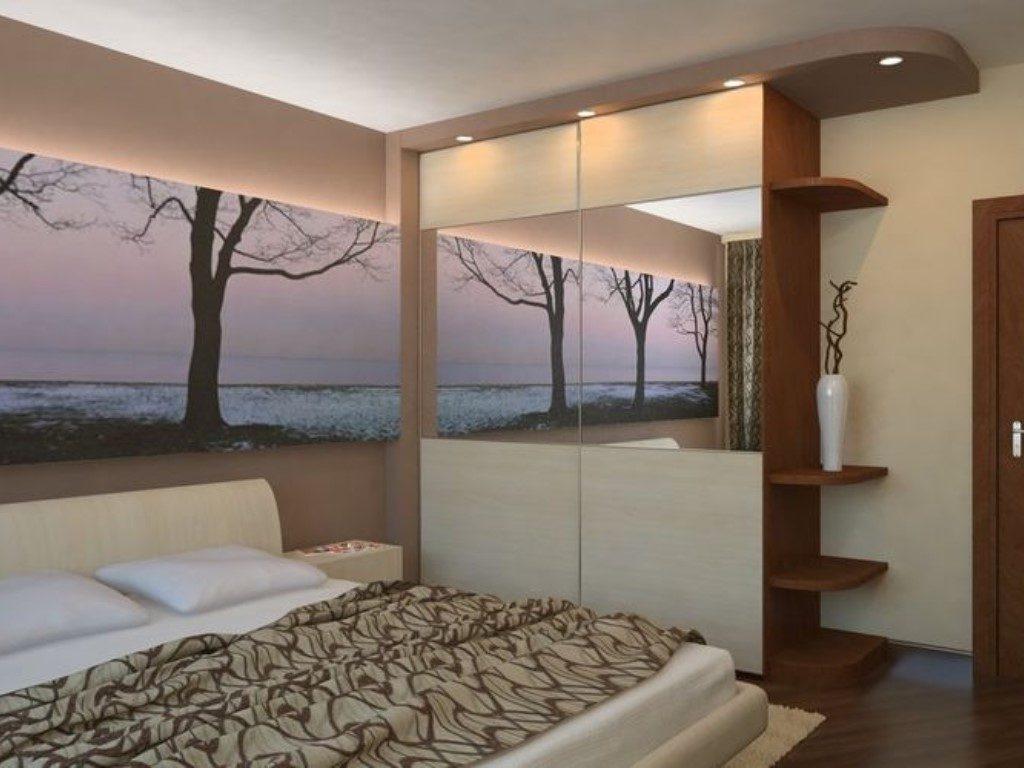 Спальня в хрущевке - 57 фото идей красивого дизайна.