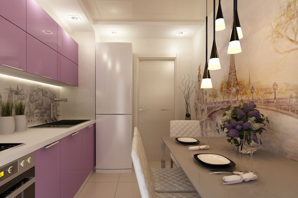 Дизайн кухни 9 кв.м. - 80 фото интерьеров, идеи для ремонта