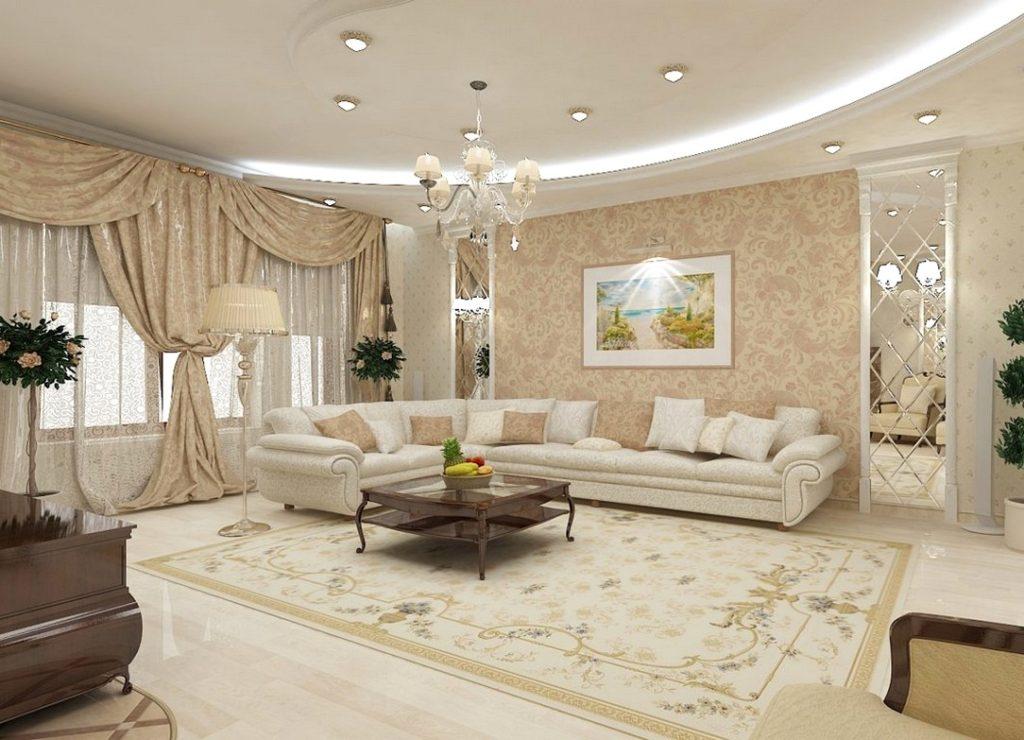 Интерьер дизайн гостиные