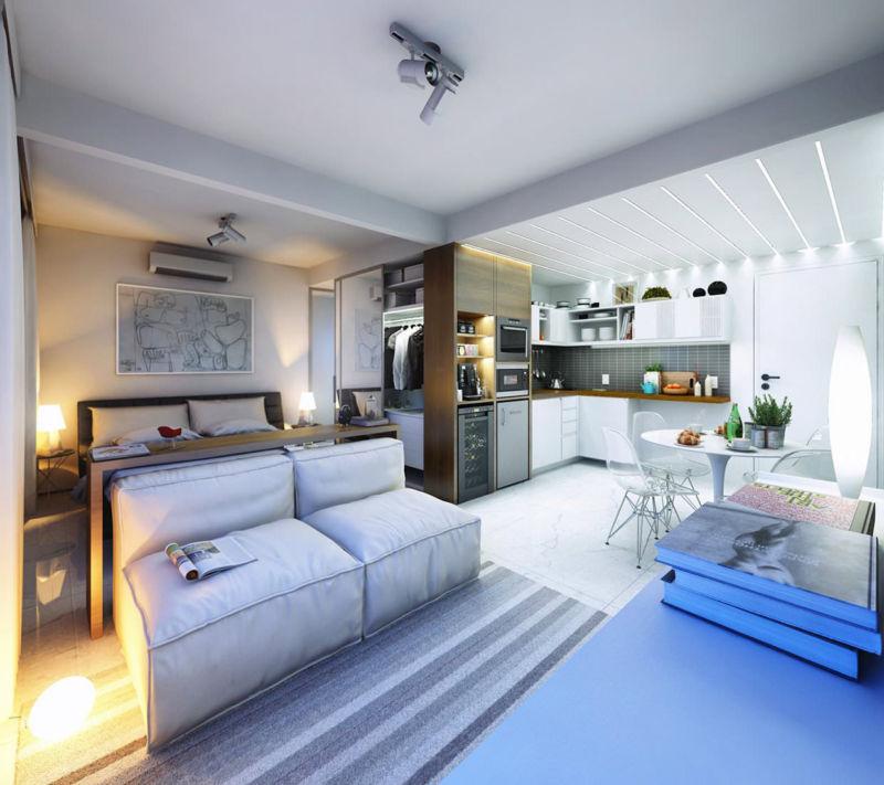 Комната в белых тонах дизайн фото