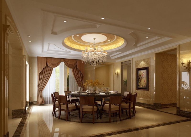 interior-captivating-plaster-ceilings-designs-ceiling-centres-or-decorating-for-dining-room-ideas-with-the-design-is-very-simple-and-representing-warmth-also-classic-dining-room-ceiling-design-with-ch