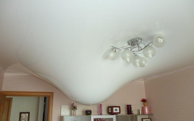 красивые натяжные потолки для спальни фото