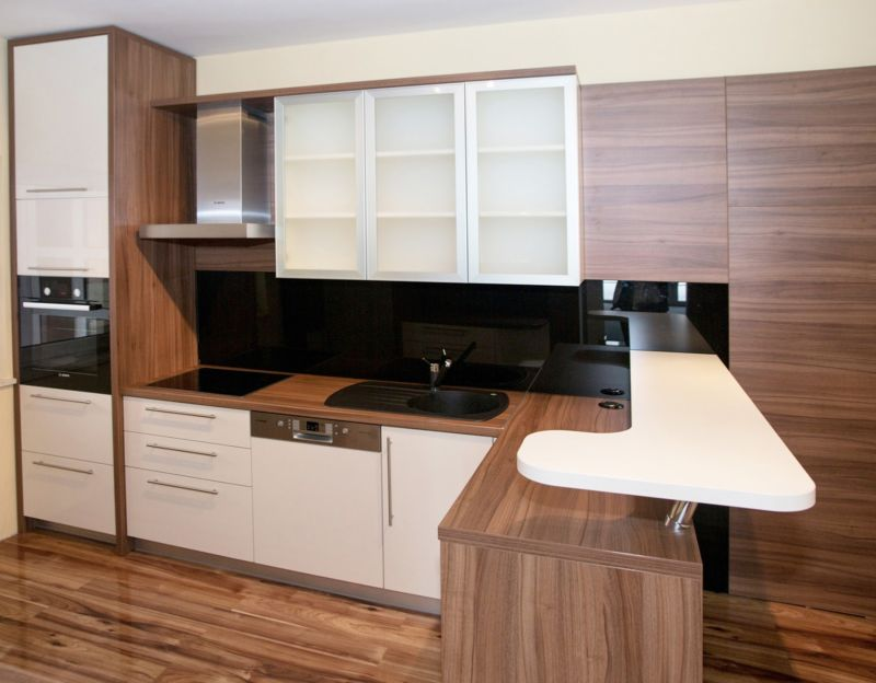 kitchen-small-modern-kitchen-design-ideas-with-wooden-kitchen-cabinetry-and-kitchen-sink-also-faucet-and-butcher-block-countertop-also-laminate-floor-kitchen-furniture-ideas-for-small-kitchen-design