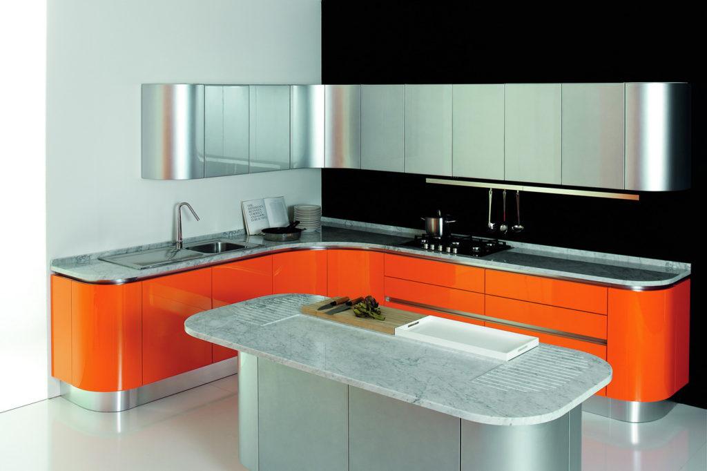 Угловые кухни модерн фото дизайн 121