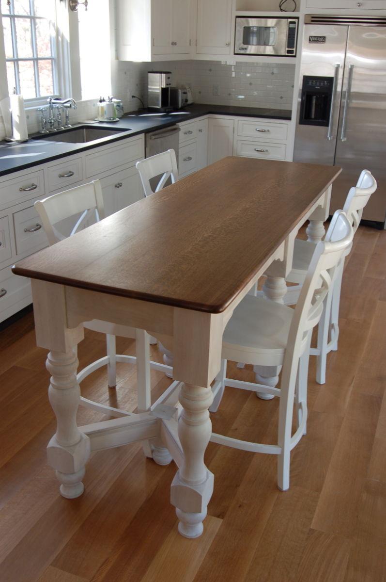 long-narrow-kitchen-island-table