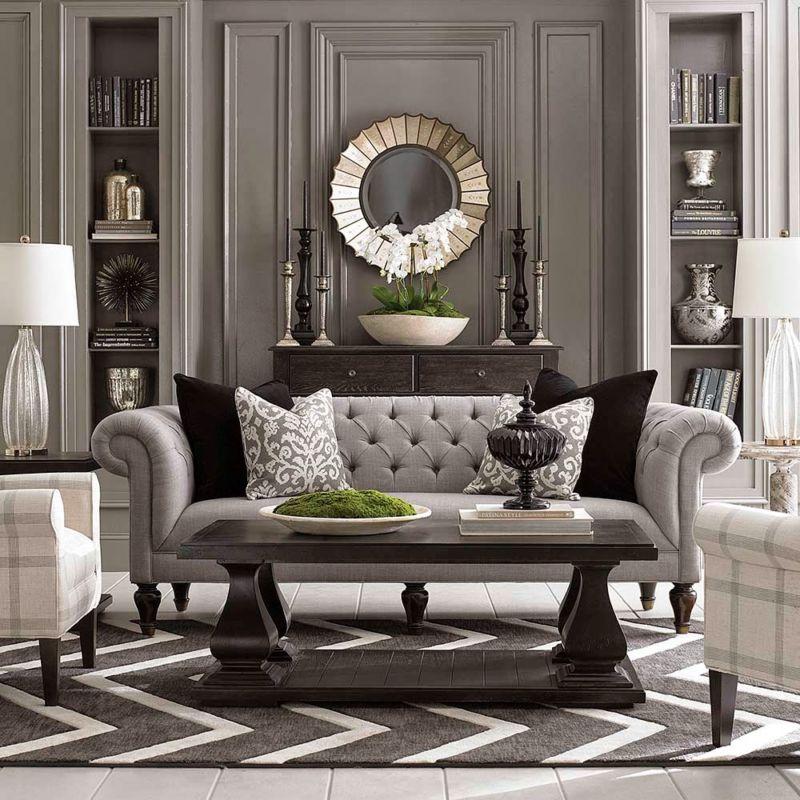 modern-chesterfield-sofa-in-traditional-grey-living-room-designhomeas-com