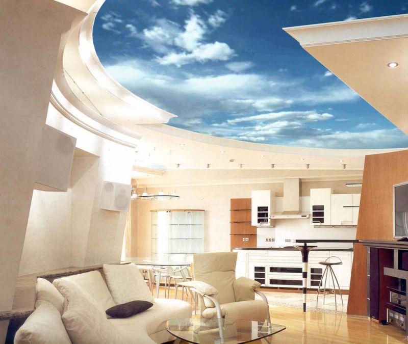 Построить потолок на дом