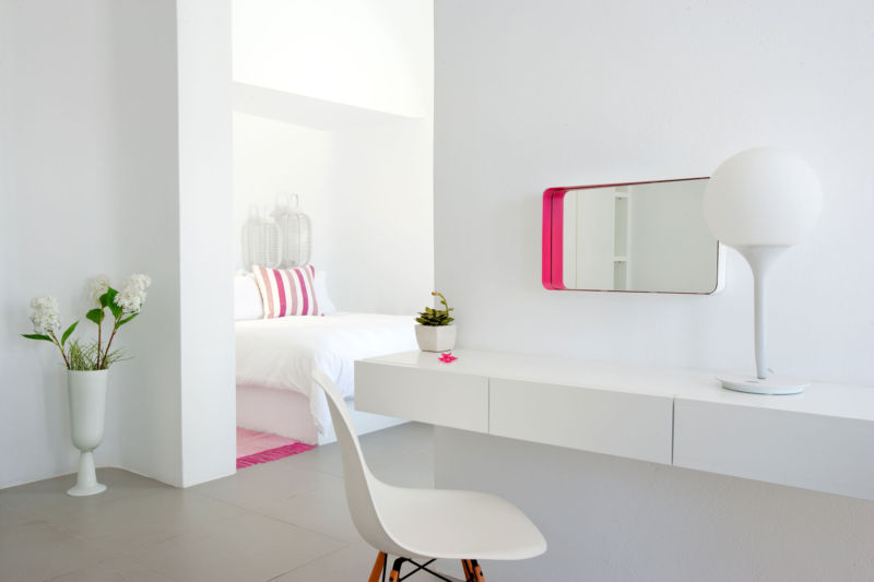 romantic-bedroom-designs-for-couples-awesome-white-bedroom-furniture-also-eames-style-dsw-chair-plus-pop-art-interior-decor-design-ideas-with-striped-colorful-pillow-and-vanities-globe-desk-lamp