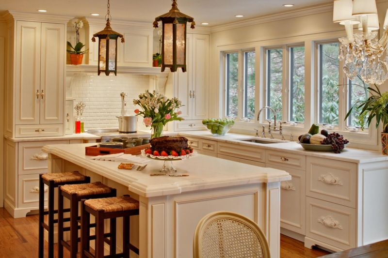 salient-kitchen-window-design-beside-sink-faucet-then-wooden-cabinet-also-classic-chandelier-above-kitchen-island-plus-tile-apron-kitche_kitchen-windows