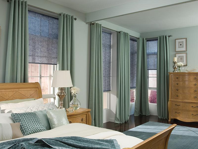 современные шторы для спальни фото новинки