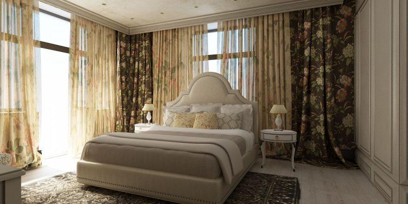 шторы в спальню фото новинки красивые