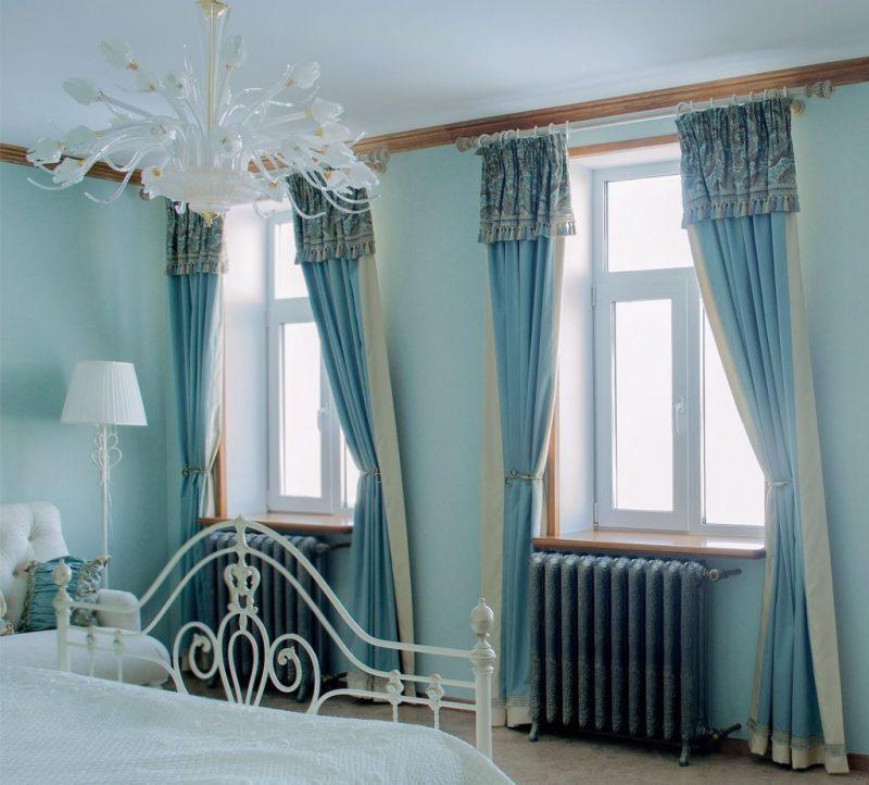 какие шторы сейчас в моде для спальни