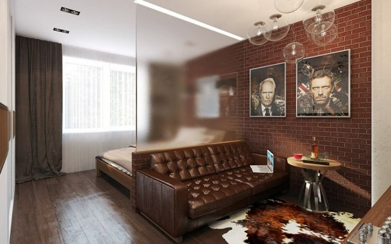 дизайн двухкомнатной квартиры 44 кв м фото