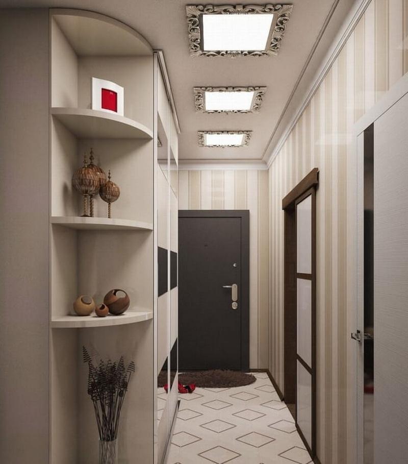 интерьер коридора в квартире