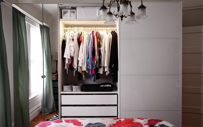 наполнение шкафа купе в спальню