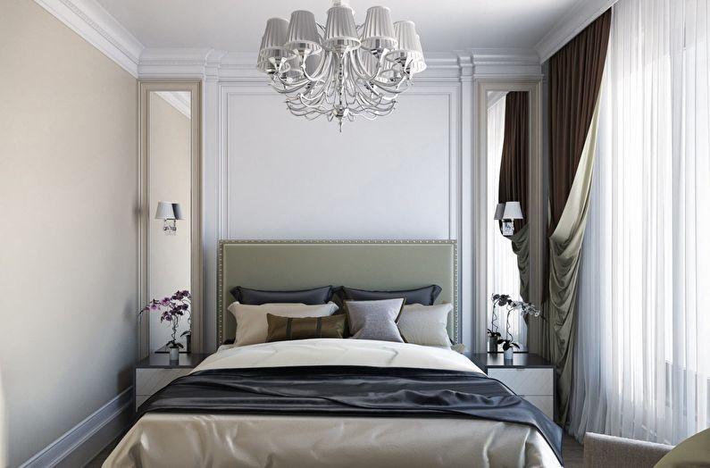 классическая спальня интерьер фото