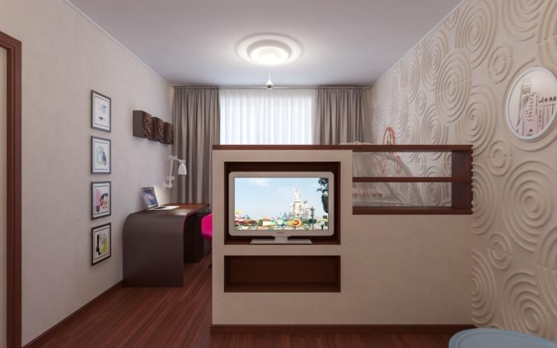 дизайн хрущевки 2 комнаты 43 кв м