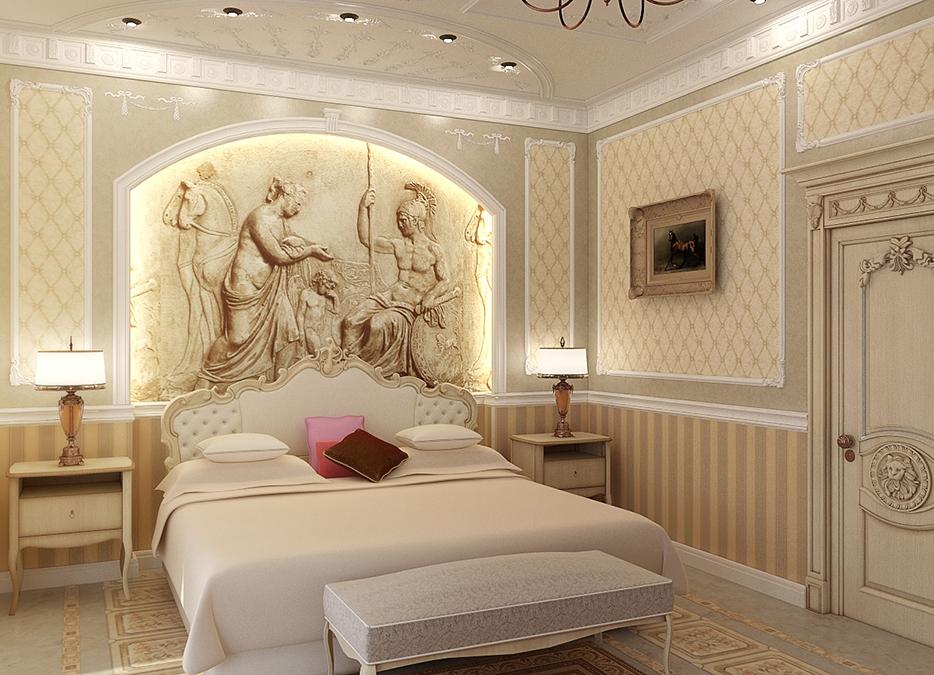 спальня современная классика