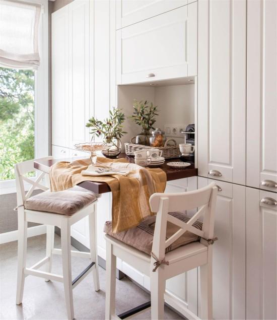 маленький кухонный гарнитур для маленькой кухни