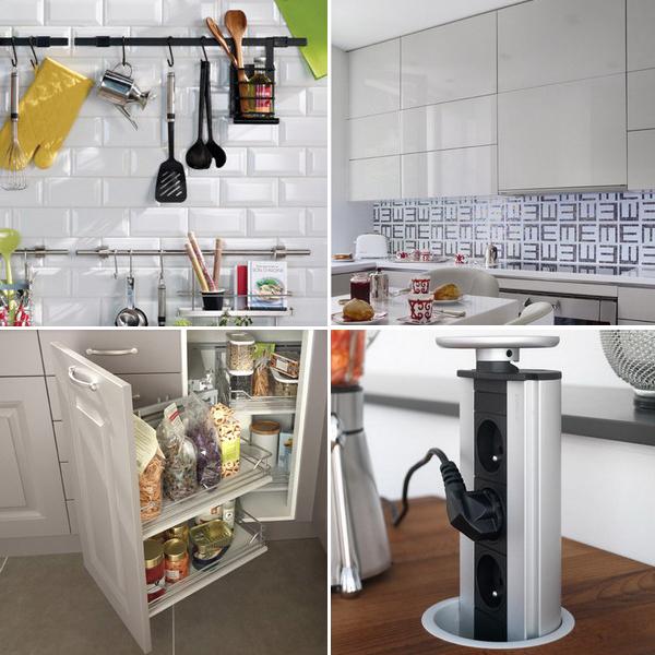 кухонный гарнитур для маленькой кухни фото