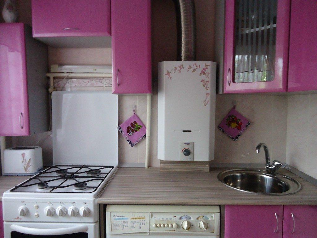 кухонный гарнитур на маленькую кухню