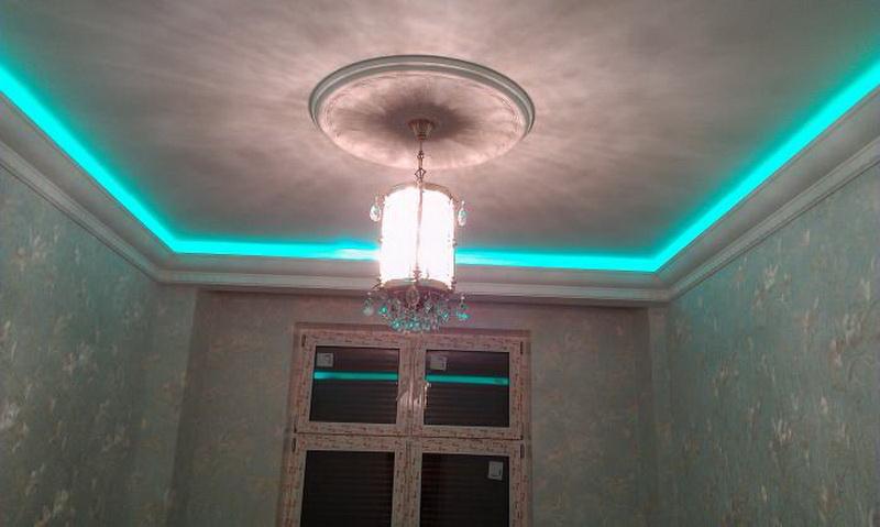 светодиодная лента в интерьере
