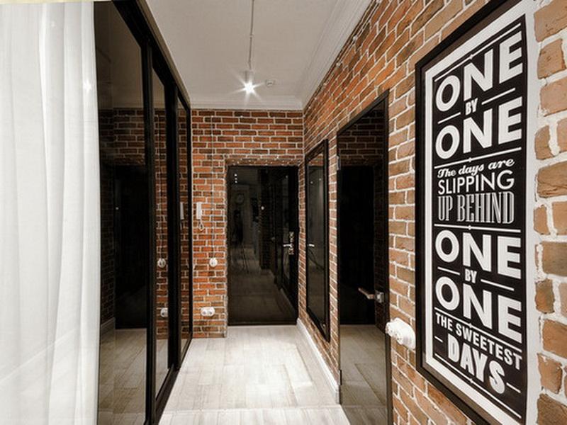 дизайн узкого коридора в квартире