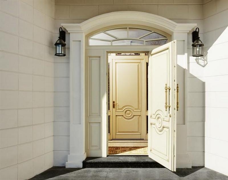 отделка дверного проема после установки железной двери