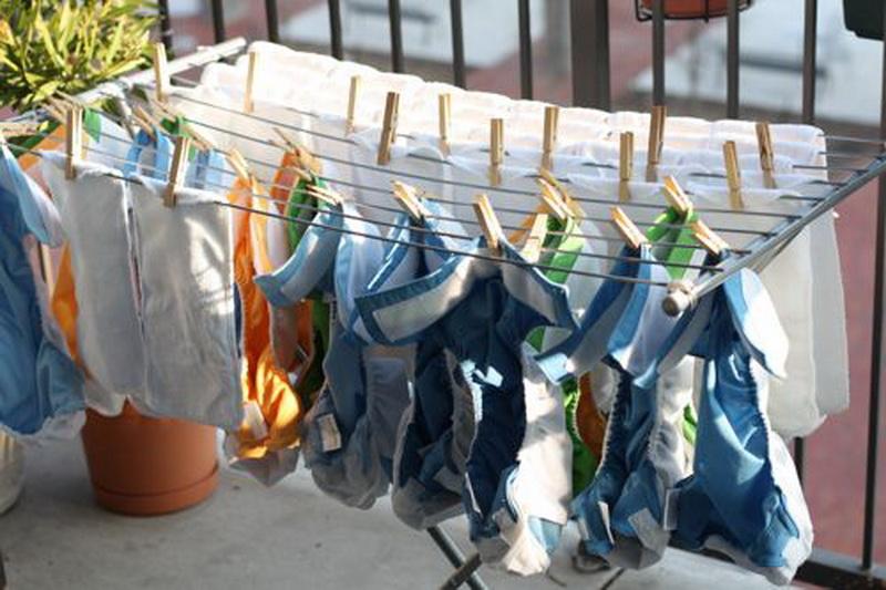 настенная сушилка для белья на балкон