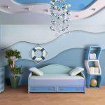 стеклообои в спальне